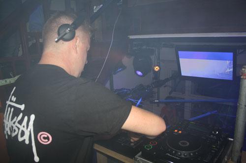Feest DJ Ruud bij Soir du Peignoir